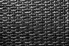 Schwarzes knited abstrakter Beschaffenheitshintergrund stockbild