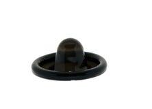 Schwarzes Kondom Lizenzfreie Stockfotografie