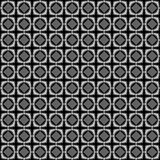 Schwarzes Kubikgitter Stockbilder