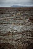 Schwarzes Lava-Feld Lizenzfreies Stockfoto