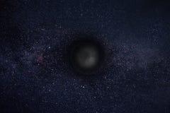 Schwarzes Loch Stockbild