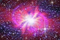Schwarzes Loch in anderem Messen Stockbilder