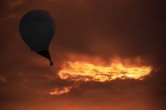 Schwarzes Loch in der Luft 2a Lizenzfreies Stockfoto