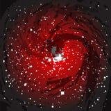 Schwarzes Loch-Hintergrund Stockfotos