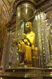 Schwarzes Madonna von Montserrat Stockbilder