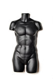 Schwarzes Mannequin lizenzfreie stockfotografie