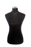 Schwarzes Mannequin oder Attrappe stockfoto