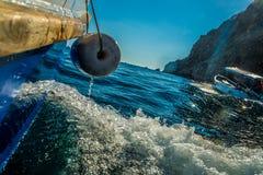 Schwarzes Meer in der Aktion Stockfoto