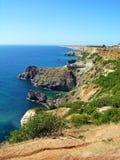 Schwarzes Meer, Krim, Ukraine stockfoto
