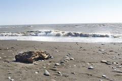 Schwarzes Meer Natürliche Beschaffenheit für Auslegunggestaltungsarbeit Sochi Lizenzfreies Stockbild