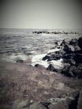 Schwarzes Meer in Nesebar lizenzfreies stockfoto
