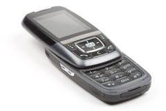 Schwarzes Mobiltelefon Stockbild
