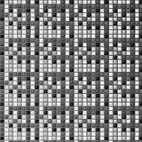 Schwarzes mosaik Stockfotos