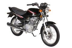 Schwarzes Motorrad Stockfotos