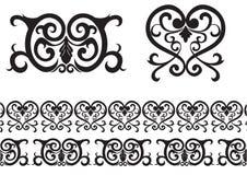 Schwarzes Muster Vektor Abbildung