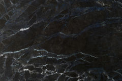 Schwarzes natürliches Marmorierungmuster für Hintergrund, abstrakter natürlicher Marmor Lizenzfreie Stockfotografie
