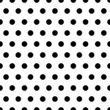Schwarzes punktiert Hintergrund Lizenzfreies Stockfoto