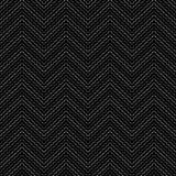 Schwarzes punktiertes dekoratives Muster Lizenzfreie Stockfotos