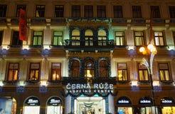 Schwarzes Rosen-Einkaufszentrum Stockfoto