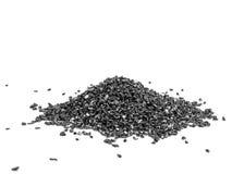 schwarzes Silikon-Karbid, Grit Abrasives-Pulver stockfotos