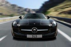Schwarzes SLS Stockbild