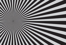 Schwarzes Sonnendurchbruch-Muster Auch im corel abgehobenen Betrag Stockfoto