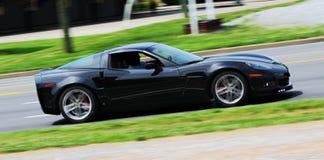 Schwarzes Sport-Auto Lizenzfreies Stockfoto