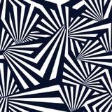 ` Schwarzes Strahlen ` - abstraktes Mischungs-Streifen-Muster für Textildesign lizenzfreie stockfotos