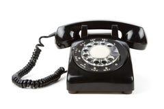 Schwarzes Telefon lizenzfreies stockfoto