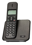Schwarzes Telefon des Geschäfts Stockbild