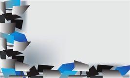 Schwarzes und Blau Stockbilder