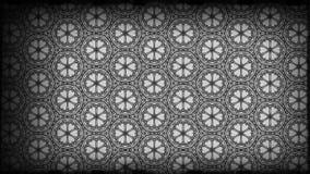 Schwarzes und Gray Floral Vintage Pattern Background-Bild-schöne elegante Illustration stock abbildung