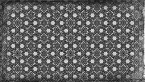 Schwarzes und Gray Vintage Floral Ornament Wallpaper kopieren grafische schöne elegante Illustration stock abbildung
