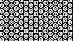 Schwarzes und Grey Floral Geometric Pattern Background-Schablonen-schöne elegante Illustration lizenzfreie abbildung