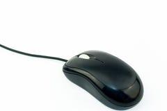 Schwarzes verdrahtete Mäuseisolat Stockfoto