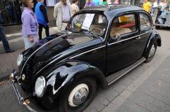 Schwarzes Volkswagen Beetle Stockfotografie