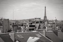 Schwarzes Weiß Paris Lizenzfreie Stockfotografie