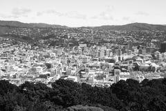 Schwarzes Weiß Wellingtons Stockfotos