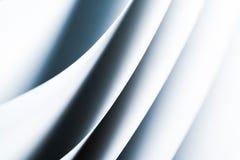 Schwarzes weißes Makrohintergrund origami Muster Stockfotos