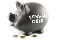 Schwarzgeld Stock Photo