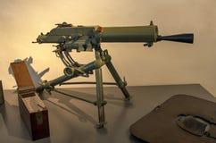 Schwarzlose Áustria-húngaro 8mm MG M 07/12 de metralhadora foto de stock royalty free
