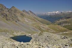 Schwarzmoossee, een meer in Oostenrijk Stock Foto's