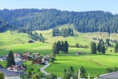 Schwarzsee in der Schweiz Stockfotos