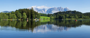 Schwarzsee lake Royalty Free Stock Image