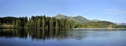 Schwarzsee in Oostenrijk Royalty-vrije Stock Afbeeldingen
