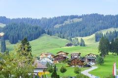 Schwarzsee Switzerland Stock Photo