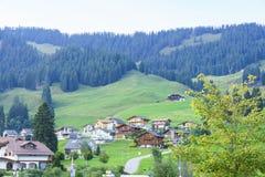 Schwarzsee in Switzerland Stock Photo