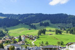 Schwarzsee in Switzerland Royalty Free Stock Photography