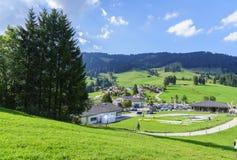Schwarzsee in Switzerland Stock Photography