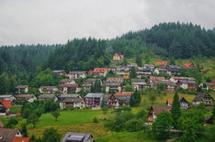 Schwarzwald Black forest Germany. View of houses in Schwarzwald Black forest Germany Stock Image